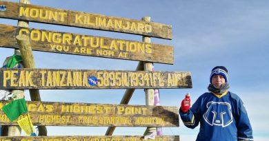 Tüdő- és májtranszplantáció után a Kilimandzsáró tetején